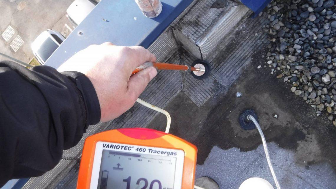 Recherche de fuite avec gaz traceur
