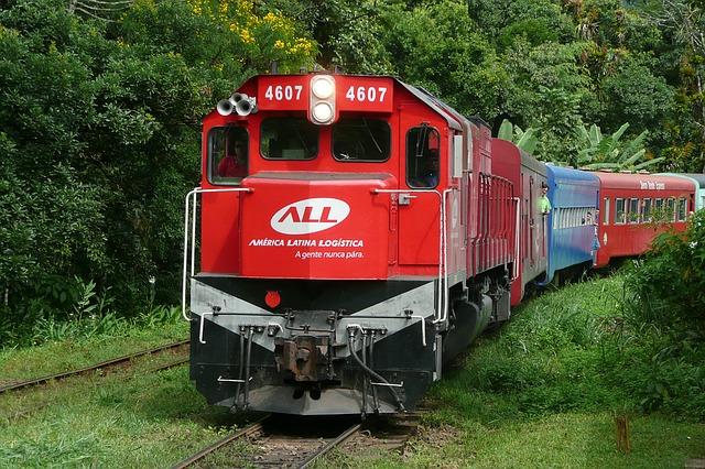 Les raisons de prendre le train pour se déplacer au Brésil